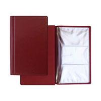 Визитница Panta Plast, на 60 визиток, цвет: темно-бордовыйW16-11128_323Элегантная визитница с прозрачными карманами в обложке из высококачественного винила предназначена для хранения и систематизации до 60 визитных карт.Характеристики:Материал: винил, пластик. Размер визитницы (в закрытом виде): 12 см х 19 см х 0,5 см.
