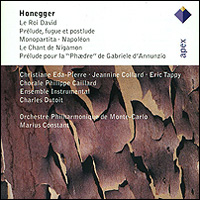 Honegger. Le Roi David / Monopartita / Le Chant De Nigamon, Etc. (2 CD)
