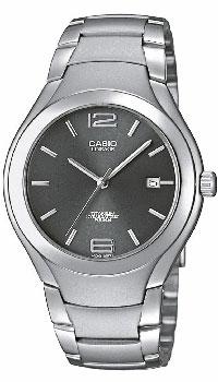 Наручные часы Casio LIN-169-8AS76245Наручные часы Casio LIN-169-7A в титановом корпусе. Надежность, стиль и точность - вот о чем скажут они о своем владельце.Отображение даты (число)Задняя крышка с винтовым фиксаторомДлительный срок службы батареи - 10 летТочность хода +/-20 сек в месяц