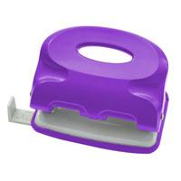 Дырокол Index Colourplay, цвет: неоновый фиолетовый. ICP115FS-54100Практичный дырокол Index Colourplay на два отверстия в эргономичном корпусе с возможностью одновременной перфорации до 16 листов. Корпус выполнен из прочного пластика. Для выравнивания листов предусмотрена выдвижная линейка. Система очистки от конфетти One-Touch.Характеристики:Размер: 10,5 см х 8 см х 5 см. Материал: металл, пластик. Цвет: неоновый фиолетовый.
