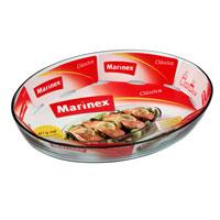 Блюдо для запекания Marinex Classica, 4 л391602Овальное блюдо для запекания Marinex Classica изготовлено из жаропрочного боросиликатного стекла. Блюдо идеально подходит для использования в духовках, микроволновых печах, холодильных и морозильных камерах, посудомоечных машинах. Жаропрочное блюдо для запекания Marinex станет незаменимым помощником у вас на кухне.Характеристики:Материал: боросиликатное стекло. Объем блюда: 4 л. Размер блюда: 39,5 см х 27,5 см х 6,6 см. Изготовитель: Бразилия. Артикул: GD1.6664.41-9.