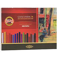 Мелки масляные Gioconda, 36 цветовFS-00897Масляные мелки Gioconda подходят и профессиональным, и начинающим художникам. Цвета хорошо смешиваютсяи растушевываются. В наборе 36 цветных мелка. Характеристики: Размер мелка: 0,6 см х 0,6 см х 7,5 см. Размер упаковки: 30 см х 21 см х 2,5 см.