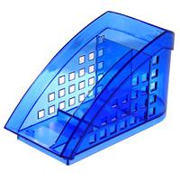 Подставка для канцелярских принадлежностей Durable Trend, 3 отделения, цвет: голубойFS-54100Элегантная подставка для канцелярских принадлежностей Trend с 3 отделениями выполнена из прозрачного голубого пластика. Подставка состоит из одного глубокого отделения для письменных принадлежностей и два отделения для прочих канцелярских мелочей. Благодаря эксклюзивному дизайну, подставка станет незаменимым предметом на рабочем столе и практичным подарком для друзей и близких.Характеристики:Цвет: голубой. Размер подставки: 17,5 см х 10 см х 7,5 см.