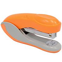 Степлер Colourplay, для скоб №24/6-26/6, цвет: оранжевыйFS-36054Практичный степлер Colourplay с вертикальной загрузкой скоб в эргономичном корпусе из яркого пластика. При загрузке скоб верхняя крышка фиксируется в открытом положении. Степлер вмещает свыше 50 скоб и рассчитан на скрепление до 16 листов. Размер скоб: №24/6-26/6. Степлер снабжен инфо-окном, позволяющим оценить количество скоб.Характеристики:Размер: 13,5 см х 6,5 см х 3,5 см. Материал: пластик, металл. Цвет: оранжевый.