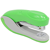 Степлер Colourplay, для скоб №24/6-26/6, цвет: зеленыйFDP160/2Практичный степлер COLOURPLAY с вертикальной загрузкой скоб в эргономичном корпусе из яркого пластика. При загрузке скоб верхняя крышка фиксируется в открытом положении. Степлер рассчитан на скрепление до 20 листов. Размер скоб: №24/6. Цвет: неоновый зеленый Характеристики:Размер: 13,5 см х 6,5 см х 3,5 см. Материал: пластик, металл. Цвет: зеленый.