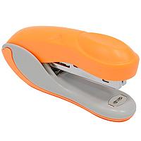 Степлер Colourplay, для скоб №10, цвет: оранжевыйFS-36054Практичный степлер Colourplay с вертикальной загрузкой скоб в эргономичном корпусе из яркого пластика. При загрузке скоб верхняя крышка фиксируется в открытом положении. Степлер вмещает 50 скоб и рассчитан на скрепление до 12 листов. Размер скоб: №10.Характеристики:Размер: 9,5 см х 4,5 см х 2,5 см. Материал: пластик, металл. Цвет: оранжевый.
