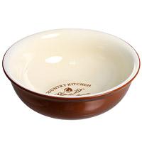 Салатник Terracotta Кухня в стиле Кантри 17,5 см TLY308-5-CK-ALПЦ1853ЛМНСалатник Кухня в стиле Кантри изготовлен из жаропрочной керамики и покрыт высококачественной глазурью. Он способен не только украсить ваш дом, но так же пополнить вашу коллекцию.Данная посуда идеально подходит для выпечки, приготовления различных блюд и разогревания пищи в духовом шкафу или микроволновой печи. Может использоваться для хранения продуктов, в том числе в холодильнике. Характеристики: Материал:керамика. Диаметр салатника: 17,5 см. Высота салатника: 6,5 см. Размер упаковки: 18 см х 17,7 см х 7 см. Производитель: Италия. Изготовитель: Китай. Артикул: TLY308-5-CK-AL. Торговая марка Terracotta - это коллекции разнообразной посуды для сервировки стола, хранения продуктов и приготовления пищи из жаропрочной керамики, покрытой высококачественной глазурью. Изделия Terracotta идеально подходят для выпечки, приготовления различных блюд и разогревания пищи в духовом шкафу или микроволновой печи. Может использоваться для хранения продуктов, в том числе в холодильнике. При приготовлении или охлаждении пищи рекомендуется использовать постепенный нагрев или охлаждение. Посуда торговой марки Terracotta совмещает в себе современные технологии и новые идеи, благодаря чему достигаются высокое качество, разнообразие форм и дизайнов.