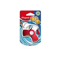 Ластик Maped Spin, цвет: красныйFS-36052Оригинальный ластик Spin в поворотном защитном футляре из пластика. Легко удаляет следы чернографитных карандашей, а футляр защищает ластик от загрязнений и увеличивает его срок службы. Не содержит ПВХ. Характеристики: Размер ластика: 6 см x 3 см x 1 см. Изготовитель: Китай.