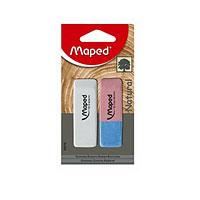 """Вашему вниманию предлагается набор ластиков из натурального каучука для стирания карандашей и чернил с бумаги различной плотности. Скошенные концы изделий предназначены для более точного стирания. Синяя сторона ластика """"Duo-Gom"""" предназначена для удаления чернил, красная - графитовых надписей. Ластик """"Dessin"""" идеально подходит для стирания простого карандаша."""