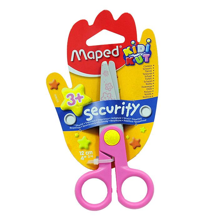 """Детские ножницы """"Security"""" с закругленными концами имеют специальные лезвия из фибергласа, которые режут бумагу, но не повредят кожу ребенка, волосы или одежду. Идеальны для обучения обращению с ножницами вашего малыша."""