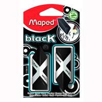 Ластик Maped Pyramide, цвет: черный, 2 штFS-36055Стильный дизайнерский ластик черного цвета трехгранной формы, соответствующий естественному захвату руки. Легко и без следов удаляет с бумаги надписи, сделанныекарандашом любой твердости. Не содержит ПВХ. Характеристики: Размер ластика: 2 см x 4,5 см x 1,5 см. Изготовитель: Китай.