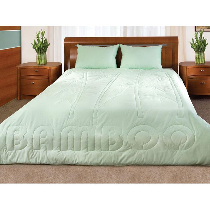 Одеяло Bamboo, наполнитель: волокно бамбука, лебяжий пух, 200 см х 220 см531-105Легкое одеяло Bamboo, чехол которого изготовлен из натурального хлопка, имеет комбинированный наполнитель - чехол с внутренней стороны продублирован пластом с волокнами целлюлозы бамбука, внутренний наполнитель - искусственный лебяжий пух.Волокно бамбука - это натуральное волокно, которое имеет прекрасные вентилирующие свойства, позволяя коже дышать свободно. Так же оно обладает дезодорирующими и антибактериальными свойствами: 70% бактерий, попадающих на него, уничтожаются естественным образом. Наполнитель лебяжий пух - аналог натурального пуха, который представляет собой сверхтонкое микроволокно нового поколения. Важным преимуществом этого наполнителя является гипоаллергенность, что делает его подходящим для детей и взрослых. Постельные принадлежности с наполнителем из бамбукового волокна и с оригинальной стежкой bamboo подходят людям, страдающим аллергией и астмой. Характеристики: Материал чехла: 100% хлопок. Наполнитель: 70% волокна бамбукаРазмер одеяла: 200 см х 220 см. Производитель: Россия.Степень теплоты: 2.ТМ Primavelle - качественный домашний текстиль для дома европейского уровня, завоевавший любовь и признательность покупателей. ТМ Primavelleрада предложить вам широкий ассортимент, в котором представлены: подушки, одеяла, пледы, полотенца, покрывала, комплекты постельного белья. ТМ Primavelle- искусство создавать уют. Уют для дома. Уют для души.