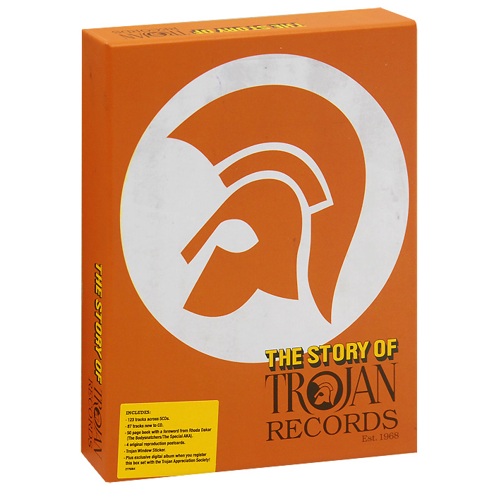 The Story Of Trojan Records (5 CD)