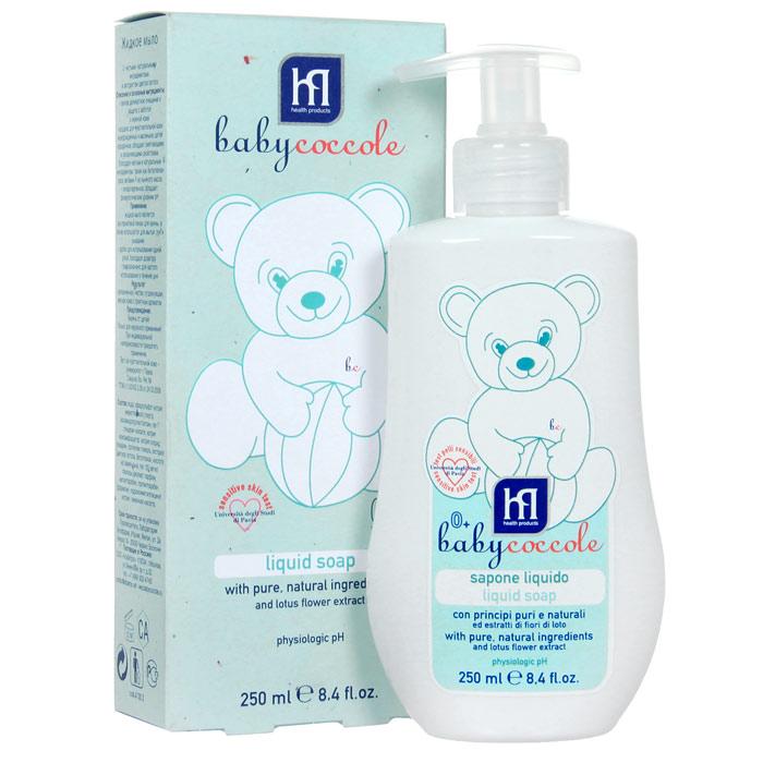 Жидкое мыло Babycoccole. The Bath, 250 млFS-00897Жидкое мыло Babycoccole. The Bath с чистыми натуральными ингредиентами и экстрактом цветов лотоса. Легкое деликатное очищение. Такое же нежное и теплое как мамина забота. Создано для чувствительной кожи новорожденных и маленьких детей. Обладает смягчающими и увлажняющими свойствами благодаря чистым и натуральным ингредиентам, таким как бетаглюкан овса, витамин F из льняного масла, а также всей нежности экстракта цветов лотоса. Характеристики:Объем: 250 мл.Товар сертифицирован.