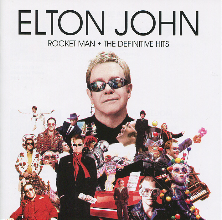 Элтон Джон Elton John. Rocket Man элтон джон elton john greatest hits 1970 2002 2 cd