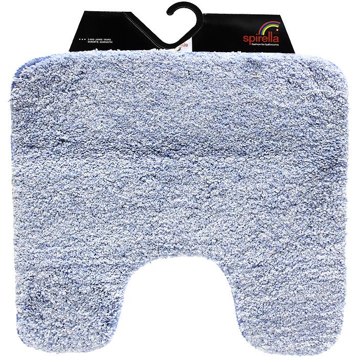 Коврик Gobi, цвет: светло-голубой, 55 х 55 см12723Коврик для ванной комнаты Gobi светло-голубого цвета выполнен из полиэстера высокого качества. Прорезиненная основа коврика позволяет использовать его во влажных помещениях, предотвращает скольжение коврика по гладкой поверхности, а также обеспечивает надежную фиксацию ворса. Коврик добавит тепла и уюта в ваш дом.Характеристики:Материал: 100% полиэстер. Размер:55 см х 55 см. Производитель: Швейцария. Изготовитель: Китай. Артикул: 1012422.