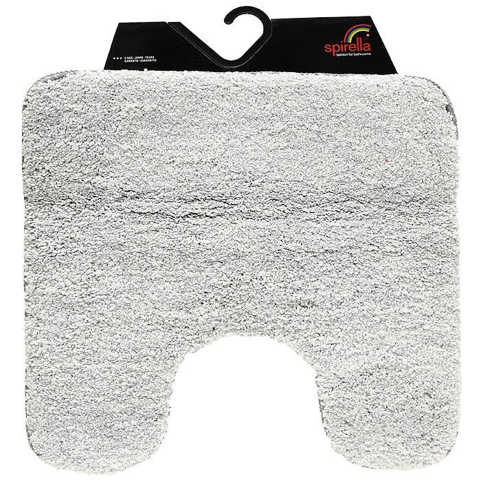 Коврик Gobi, цвет: светло-серый, 55 х 55 см531-401Коврик Gobi светло-серого цвета выполнен из полиэстера высокого качества. Прорезиненная основа коврика позволяет использовать его во влажных помещениях, предотвращает скольжение коврика по гладкой поверхности, а также обеспечивает надежную фиксацию ворса. Коврик добавит тепла и уюта в ваш дом.Характеристики:Материал: 100% полиэстер. Размер:55 см х 55 см. Производитель: Швейцария. Изготовитель: Китай. Артикул: 1012509.