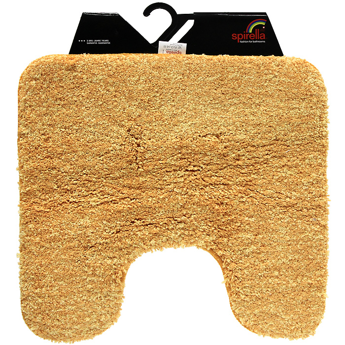 Коврик Gobi, цвет: оранжевый, 55 х 55 см5284_зеленыйКоврик Gobi оранжевого цвета выполнен из полиэстера высокого качества. Прорезиненная основа коврика позволяет использовать его во влажных помещениях, предотвращает скольжение коврика по гладкой поверхности, а также обеспечивает надежную фиксацию ворса. Коврик добавит тепла и уюта в ваш дом.Характеристики:Материал: 100% полиэстер. Размер:55 см х 55 см. Производитель: Швейцария. Изготовитель: Китай. Артикул: 1012529.