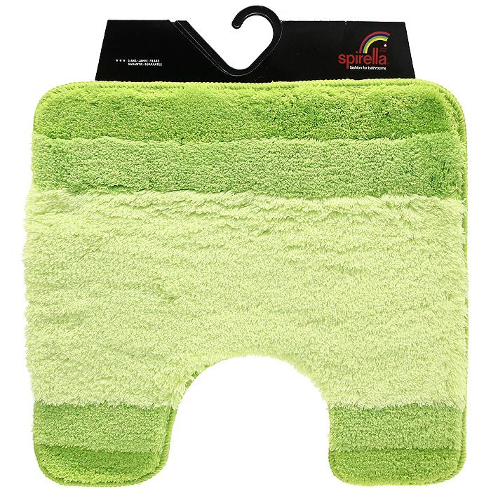 Коврик Balance, цвет: зеленый, 55 х 55 см68/5/3Коврик для ванной комнаты Balance выполнен из акрила высокого качества. Прорезиненная основа коврика позволяет использовать его во влажных помещениях, предотвращает скольжение коврика по гладкой поверхности, а также обеспечивает надежную фиксацию ворса. Коврик добавит тепла и уюта в ваш дом. Хорошо переносит машинную стирку и отжим в центрифугах, а также подходит для полов с подогревом. Характеристики:Материал: 100% акрил. Размер:55 см х 55 см. Производитель: Швейцария. Изготовитель: Китай. Артикул: 1009229.