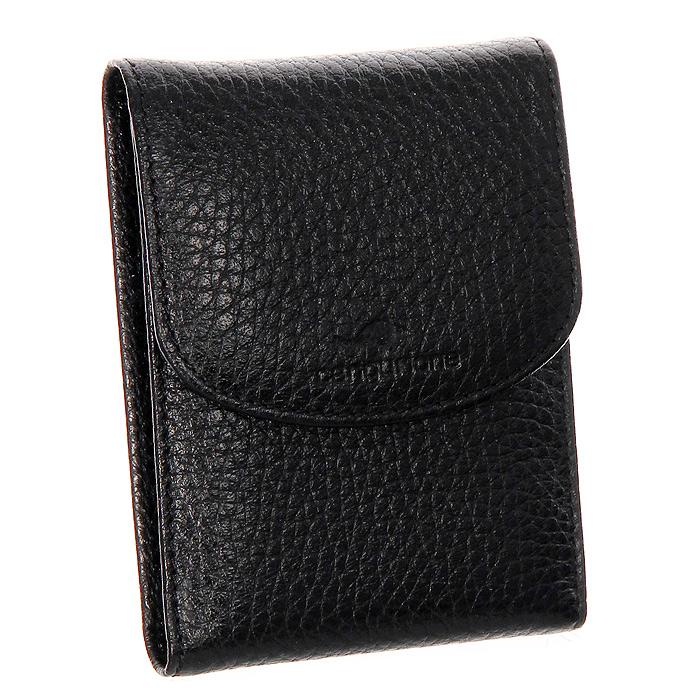 Визитница Cangurione, цвет: черныйA52_108Компактная визитница Cangurione - стильная вещь для хранения визиток. Визитница выполнена из натуральной кожи черного цвета. Внутри находится блок из прозрачного пластика, рассчитанный на 18 визиток и два дополнительных прозрачных кармана. Визитница закрывается на кнопку.Такая визитница станет замечательным подарком человеку, ценящему качественные и практичные вещи.Визитница упакована в коробку из плотного картона с логотипом фирмы. Характеристики: Материал:натуральная кожа, металл, ПВХ. Размер:10,5 см x 7,5 см. Цвет:черный. Размер упаковки:12,5 см x 10 см x 2,5 см. Производитель:Италия. Артикул:3103-001 F/Black.