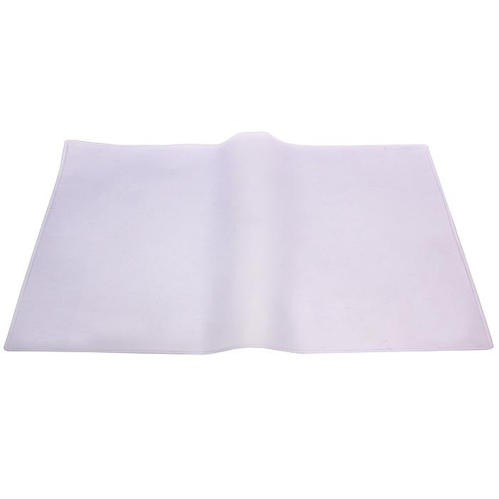 """Прозрачная настольная покрытие """"Durable"""" прямоугольной формы с антибликовым покрытием удобна для письма, позволяет хранить на столе нужную информацию, защищает рабочую поверхность стола."""