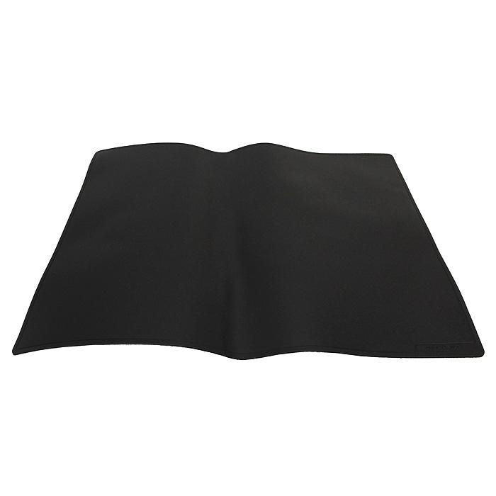 Настольная подкладка-коврик для письма Durable, цвет: черныйCS-PM140-106730Настольная подкладка-коврик Durable с закругленными уголками, с нескользящей поролоновой основой удобна для письма, эффективно защищает поверхность рабочего стола. Характеристики: Материал: пластик, поролон. Размер: 40 см х 60 см.