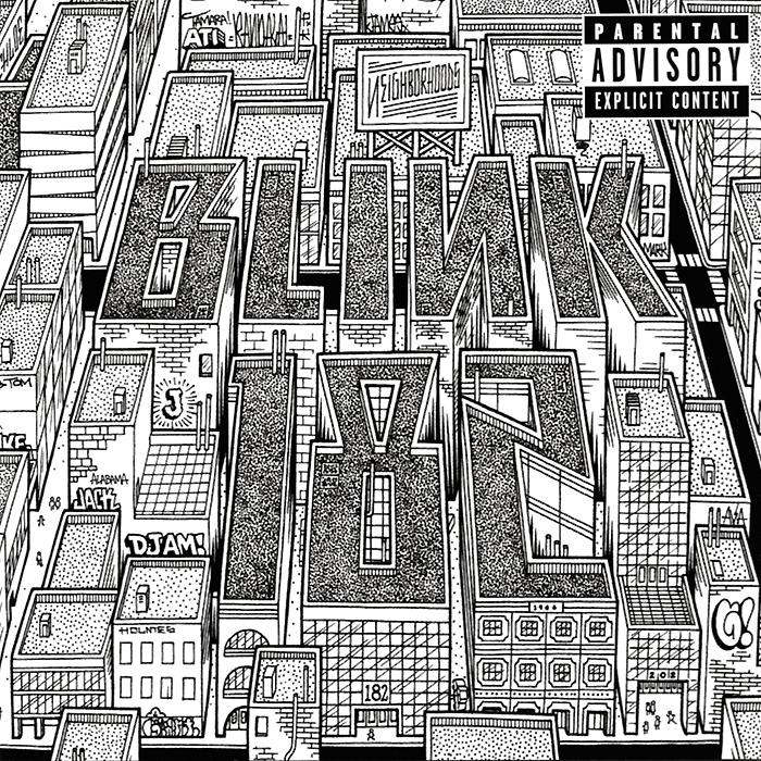 Blink 182 Blink-182. Neighborhoods интернет магазин одежда для панков