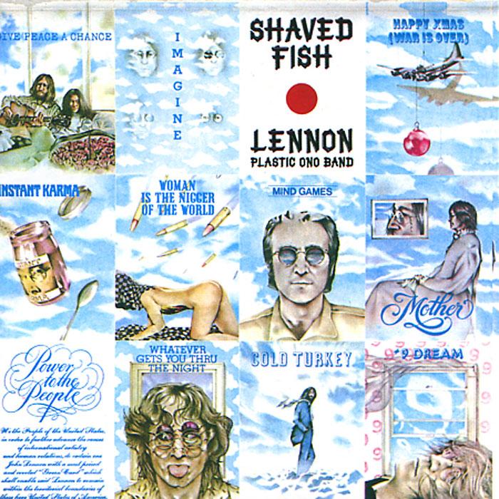 Lennon. Plastic Ono Band. Shaved Fish john lennon plastic ono band lp