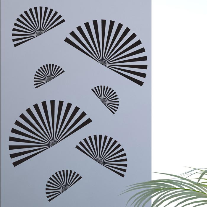 Стикер Paristic Веера, цвет: черный, 44 см х 30 см300085Стикер Paristic Веера - это уникальная возможность создать неповторимый индивидуальный облик интерьера вашего дома. Стикер с изображением, имитирующим веера, выполнен из матового винила - тонкого эластичного материала, который хорошо прилегает к любым гладким и чистым поверхностям, легко моется и держится до семи лет, при снятии не оставляет следов.Изображения можно разделить и, разместив их в разных местах, создать целую композицию.Такой оригинальный элемент декора придаст интерьеру креативность и новое игривое настроение и станет великолепным украшением, притягивающим заинтересованные взгляды окружающих.В комплекте со стикером предусмотрена подробная инструкция по наклеиванию (на русском языке). Характеристики: Материал:винил. Цвет:черный. Размер стикера (В х Ш): 44 см х 30 см. Размер упаковки: 48,5 см х 35 см. Производитель: Франция. Артикул: про0360. Paristic - это стикеры высокого качества. Художественно выполненные стикеры, создающие эффект обмана зрения, дают необычную возможность использовать в своем интерьере элементы городского пейзажа. Продукция представлена широким ассортиментом - в зависимости от формы выбранного рисунка и от Ваших предпочтений стикеры могут иметь разный размер и разный цвет (12 вариантов помимо классического черного и белого). В коллекции Paristic - авторские работы от урбанистических зарисовок и узнаваемых парижских мотивов до природных и графических объектов. Идеи французских дизайнеров украсят любой интерьер: Paristic -это простой и оригинальный способ создать уникальную атмосферу как в современной гостиной и детской комнате, так и в офисе.В настоящее время производство стикеров Paristic ведется в России при строгом соблюдении качества продукции и по оригинальному французскому дизайну.