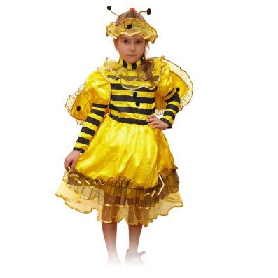 Карнавалия Маскарадный костюм Пчелка размер 134 -  Карнавальные костюмы и аксессуары