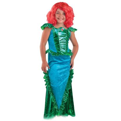 Карнавалия Маскарадный костюм Русалочка размер 134 -  Карнавальные костюмы и аксессуары