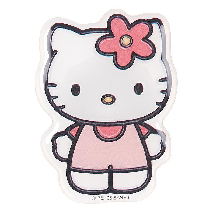 Наклейка Hello Kitty2028-PНаклейка Hello Kitty привлечет внимание вашей малышки и не позволит ей скучать!Hello Kitty (Хелло Китти) - персонаж японской поп-культуры - маленькая белая кошечка в упрощенной рисовке. Торговая марка Hello Kitty, зарегистрированная в 1976 году, используется в качестве бренда для многих продуктов и стала главным героем одноименного мультсериала. Игрушки Hello Kitty - популярные в Японии и во всем мире сувениры. Характеристики:Размер наклейки: 8 см х 6,5 см.
