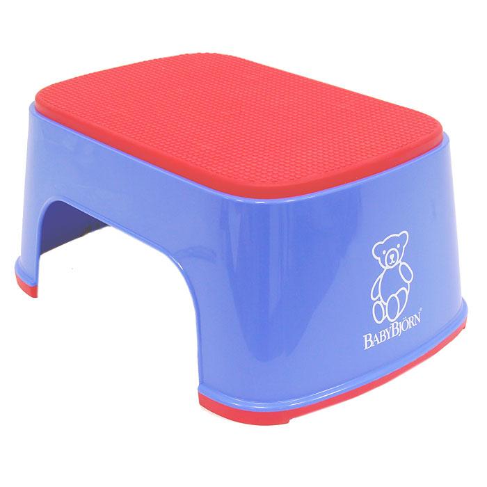 Стульчик-подставка  Babybjorn , цвет: синий, красный -  Детская мебель