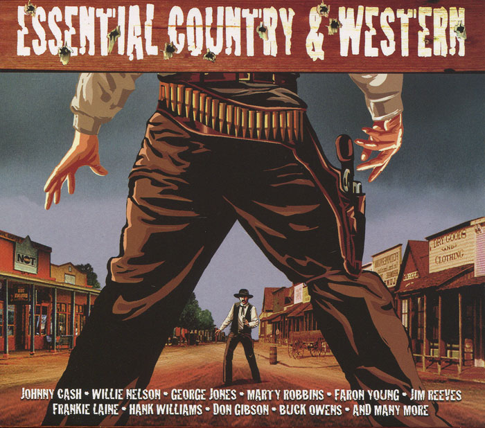 Содержание:               CD 1:            01. Gunfight At O.K. Corral - Frankie Laine        02. Big Iron - Marty Robbins        03. Five Feet High And Rising - Johnny Cash        04. Tennessee Stud - Eddy Arnold         05. Ghost Riders In The Sky - Gene Autry        06. Oh, Lonesome Me - Don Gibson        07. North Wind - Slim Whitman        08. Under Your Spell Again - Buck Owens        09. When It's Springtime In Alaska (It's Forty Below) - Johnny Horton         10. The Long Black Veil - Lefty Frizzell        11. Heartaches By The Number - Ray Price        12. Cabin On The Hill - Lester Flatt And Earl Scruggs        13. Ten Thousand Drums - Carl Smith        14. Rock Island Line - Lonnie Donegan        15. Live Fast, Love Hard, Die Young - Faron Young        16. He'll Have To Go - Jim Reeves        17. Seasons Of My Heart - George Jones        18. Walkin' After Midnight - Patsy Cline        19. Sixteen Tons - Merle Travis        20. Running Gun - Marty Robbins        21. Big Midnight Special - Stoney & Wilma Lee Cooper        22. Nine Pound Hammer - Tennessee Ernie Ford        23. I'm Movin' On - Hank Snow        24. Don't Take Your Guns To Town - Johnny Cash        25. The Dying Cowboy - Cisco Houston                CD 2:         01. Tom Dooley - The Kingston Trio        02. The Battle Of New Orleans - Johnny Horton        03. The 3:10 To Yuma - Frankie Laine        04. I Got Stripes - Johnny Cash        05. El Paso - Marty Robbins        06. Kisses Sweeter Than Wine - Jimmie Rodgers        07. Amigo's Guitar - Kitty Wells        08. Sam Hall - Tex Ritter        09. Don't Tell Me Your Troubles - Don Gibson        10. Gotta Travel On - Billy Grammer        11. Dark As The Dungeon - Tennessee Ernie Ford        12. The Auctioneer - Leory Van Dyke        13. Man With The Blues - Willie Nelson        14. I Ain't Never - Webb Pierce        15. Come Walk With Me - Stoney & Wilma Lee Cooper        16. Kaw-Liga - Hank Williams        17. Why Baby Why - Red Sovine         18. Chasin' A Rainbow - Hank Snow        19. Blackland Farmer - Frankie Miller        20. Billy The Kid - Marty Robbins        21. Set Him Free - Skeeter Davis        22. Rawhide - Frankie Laine        23. The Killer - Cisco Houston        24. Death At The Bar - Kitty Wells        25. Mary Of The Wild Moor - The Louvin Brothers