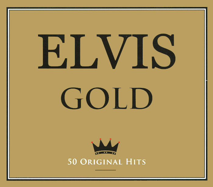 Элвис Пресли Elvis. Gold. 50 Original Hits (2 CD) primadonna dave merlin крис луис radiorama hugh bullen italo disco 12 hits 2 cd