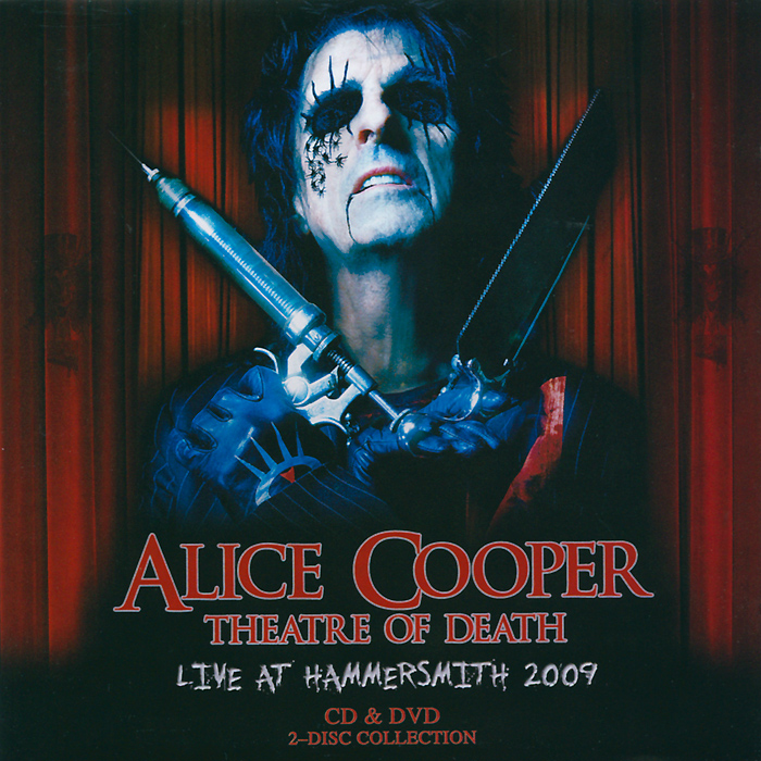 DVD:   Theatre Of Death - Live At Hammersmith 2009 Picture Format: PAL 16x9 Format: DVD-9Time: 90 mins. Color Mode: Color Region Code: 0 (All)Language And Audio Content: English Subtitles: No