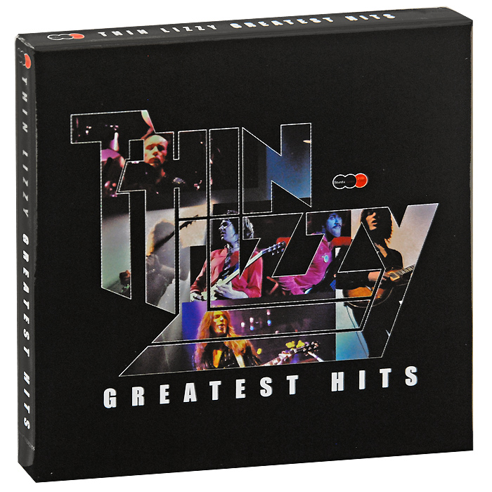 Thin Lizzy Thin Lizzy. Greatest Hits (2 CD + DVD) элтон джон elton john one night only the greatest hits 2 cd dvd