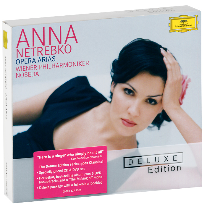 Анна Нетребко,Vienna Philharmonic Orchestra,Wiener Staatsopernchor,Жанандреа Нозеда Anna Netrebko. Opera Arias. Deluxe Edition (CD + DVD) touchstone teacher s edition 4 with audio cd
