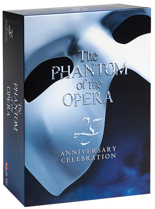Эндрю Ллойд Уэббер Phantom Of The Opera. 25th Anniversary Edition (4 CD + DVD) pantera pantera reinventing hell the best of pantera cd dvd