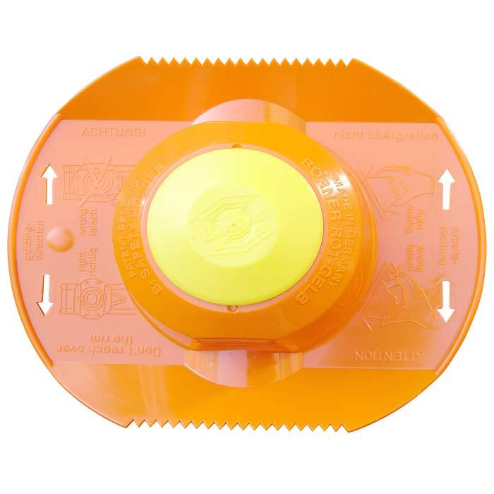 Плододержатель Borner, цвет: оранжевый 104/1104/1Плододержатель Borner выполненный из пластика с удобной ручкой. Характеристики: Материал: пластик, металл. Размер плододержателя: 15,3 см х 13 см х 5 см. Производитель: Германия.