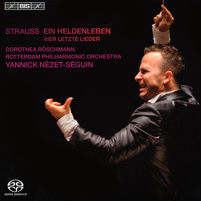 Дороти Рошмэнн,Rotterdam Philharmonic Orchestra,Джанник Незет-Сегуин Yannick Nezet-Seguin, Rotterdam PO. Strauss. Ein Heldenleben Etc. (SACD)  цена