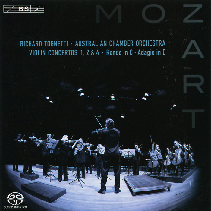 Ричард Тогнетти Richard Tognetti. Mozart. Violin Concertos Nos 1,2 & 4 Etc. (SACD) dr denim jeansmakers