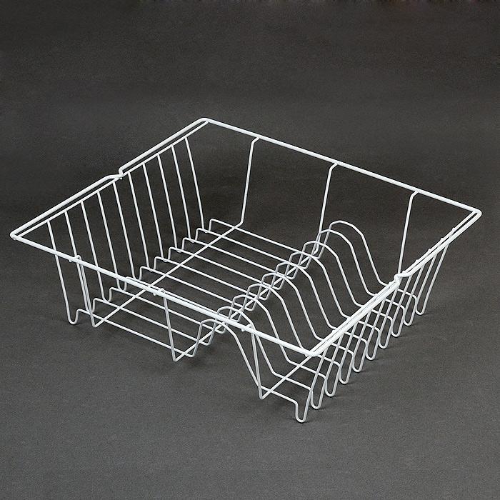 Сушилка для посуды PiccoloВетерок 2ГФСушилка для посуды Piccolo выполнена из стали и окрашена белой краской, содержащей эпоксидный порошок. Сушилка представляет собой решетку с ячейками, в которые помещается посуда. Она займет достойное место на вашей кухне. Компактные размеры и оригинальный дизайн выделяют эту сушилку из ряда подобных. Характеристики: Материал: сталь.Размеры:36 см х 33 см х 11 см.Производитель:Италия.Артикул:32.11.40/94.