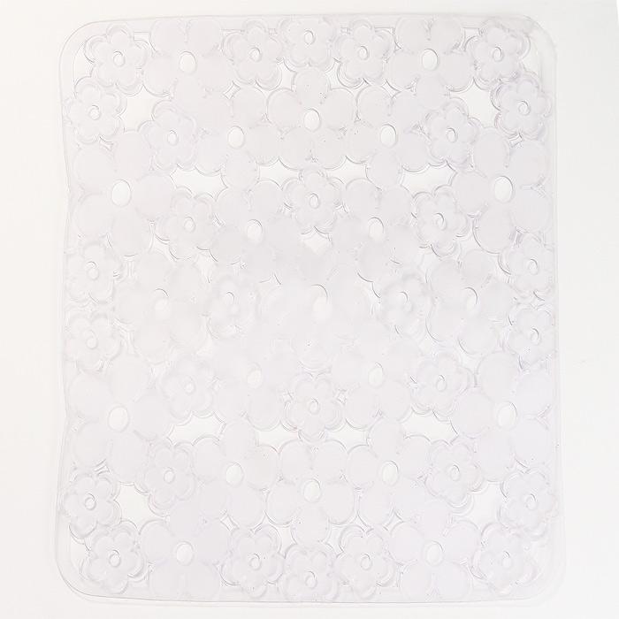 Коврик для раковины Metaltex, цвет: прозрачный, 32 х 32 см10503Коврик для раковины Metaltex изготовлен из ПВХ с цветочным рисунком. Коврик имеет квадратную форму, поэтому прекрасно подойдет для любых раковин. Такой коврик защитит вашу посуду во время мытья, а также предотвратит засор труб, задерживая остатки пищи. Товар сертифицирован.