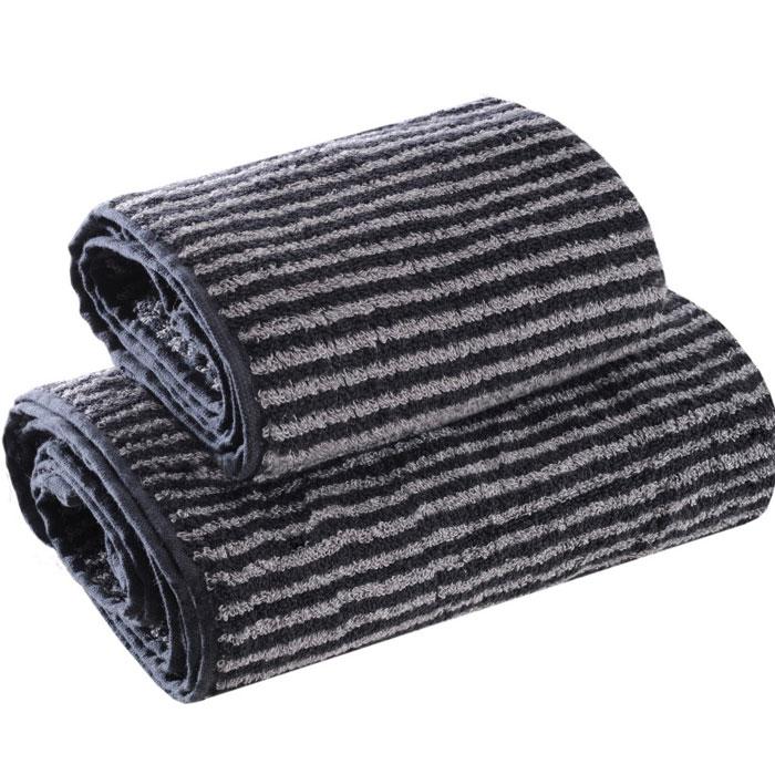 Набор полотенец Ilta (Илта), цвет: черно-серый, 34 см х 76 см, 50 см х 100 см97775318Махровые полотенца коллекции Ilta (Илта), выполнены из натурального хлопка, деликатно ухаживают за кожей, хорошо поглощают влагу и дарят необыкновенную мягкость и комфорт. Этим полотенцам не страшна многократная стирка - они не теряют своей яркости и мягкости благодаря качественной махровой ткани. Характеристики: Материал: хлопок. Размер: 34 см х 76 см, 50 см х 100 см. Цвет: черно-серый. Производитель: Россия. Артикул: 116.