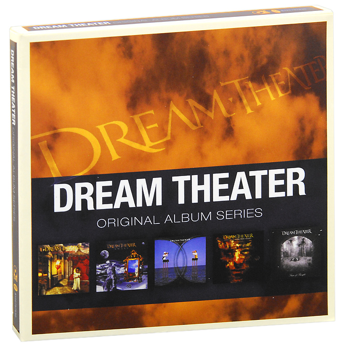 Dream Theater Dream Theater. Original Album Series (5 CD) cd dream theater the triple album collection