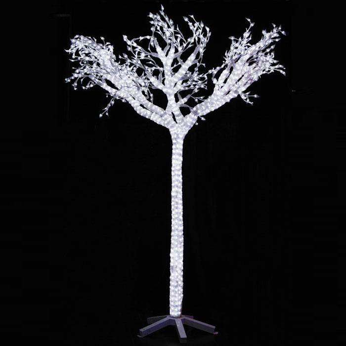 Светодиодная фигура Светящееся дерево, высота 260 смSR-1Фигура Светящееся дерево, выполненная из акрила в виде дерева, оснащена 1900 белыми светодиодами. Фигура имеет трансформатор для наружного использования. Благодаря ярким и долговечным светодиодам она будет озарять все вокруг, нежным белым светом. Такое дерево послужит прекрасным дополнением к интерьеру, а также может стать замечательным украшением вашего двора. Характеристики: Материал: акрил. Размер фигуры (ДхШхВ): 45 см х 76 см х 260 см.