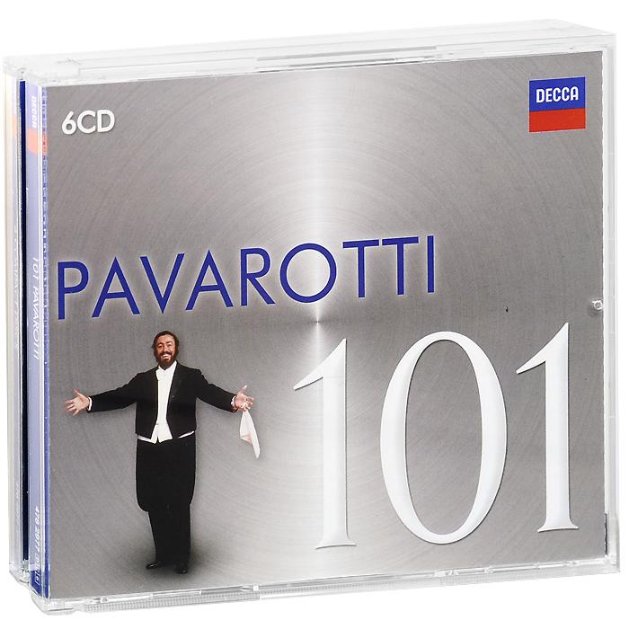 Лучано Паваротти Pavarotti. 101 Pavarotti (6 CD) danza