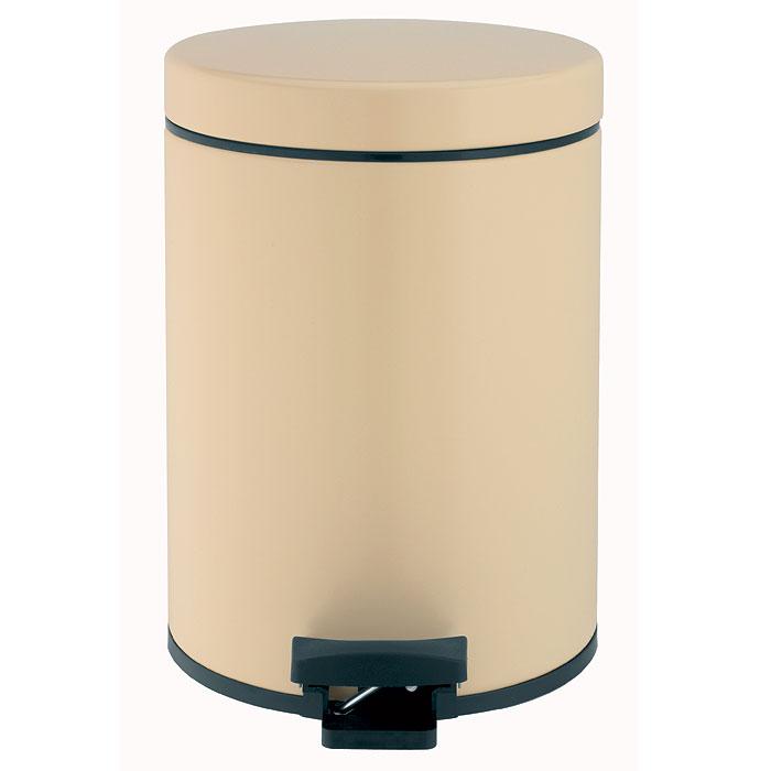 Ведро для мусора Brabantia, с педалью, цвет: миндальный, 5 л5215Ведро для мусора Brabantia, выполненное из гальванизированной стали миндального цвета, обеспечит долгий срок службы и легкую чистку. Ведро поможет вам держать мусор в порядке и предотвратит распространение неприятного запаха. Съемная крышка, выполненная из пластика, оснащена механизмом двойной петли из стали. При открывании вручную крышка фиксируется в открытом положении. Закрывается бесшумно, плотно прилегает, предотвращая распространение запаха. Ведро оснащено педалью, с помощью которой также можно открывать крышку.Нескользящая пластиковая основа ведра предотвращает повреждение пола. Внутренняя часть ведра - это корзина, выполненная из пластика и оснащенная ручкой для переноса. В комплекте с ведром идет упаковка с подходящими по размеру мусорными мешками фирмы Brabantia, которые оснащены затяжными шнурками.Характеристики:Материал:сталь, пластик. Объем:5 л. Размер ведра:20 см х 29 х 28 см. Размер упаковки:22 см х 26 см х 29,5 см. Артикул:390142.Гарантия производителя: 5 лет.