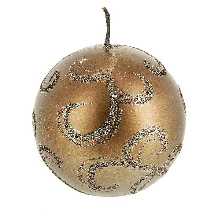 Свеча Снип Снап Снурре Узоры, цвет: шоколадный, диаметр 7 смFS-91909Шарообразная свеча шоколадного цвета, выполнена из воска и декорирована блестками. Такая свеча украсит интерьер вашего дома или офиса в преддверии Нового года. Оригинальный дизайн и красочное исполнение создадут праздничное настроение. Откройте для себя удивительный мир сказок и грез. Почувствуйте волшебные минуты ожидания праздника, создайте новогоднее настроение вашим дорогим и близким. Характеристики: Материал: воск. Диаметр свечи: 7 см. Изготовитель:Китай. Артикул:0152-0012.